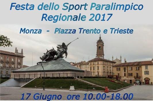 Festa Sport Paralimpico Monza 2017