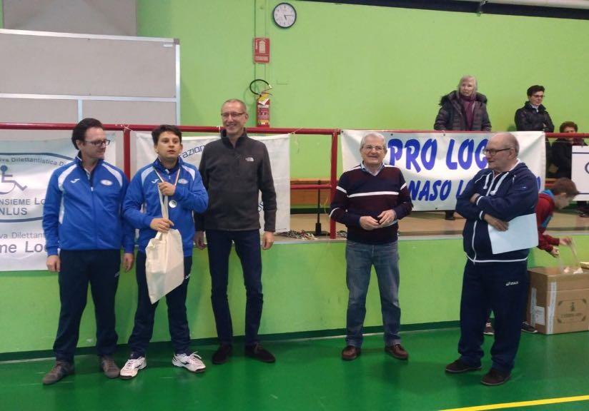 Premiazione Galletti Tennistavolo Montanaso Lombardo 2018