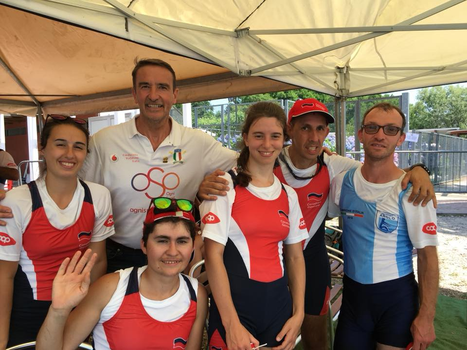 Tricolori canottaggio Varese 18