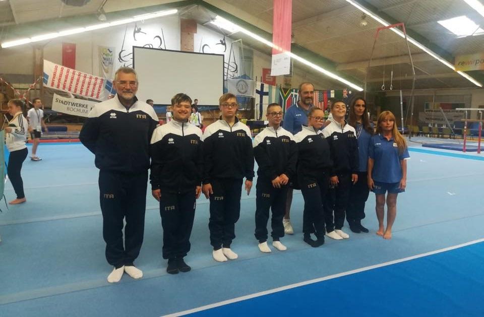 Azzurri Mondiali ginnastica Bochum 18