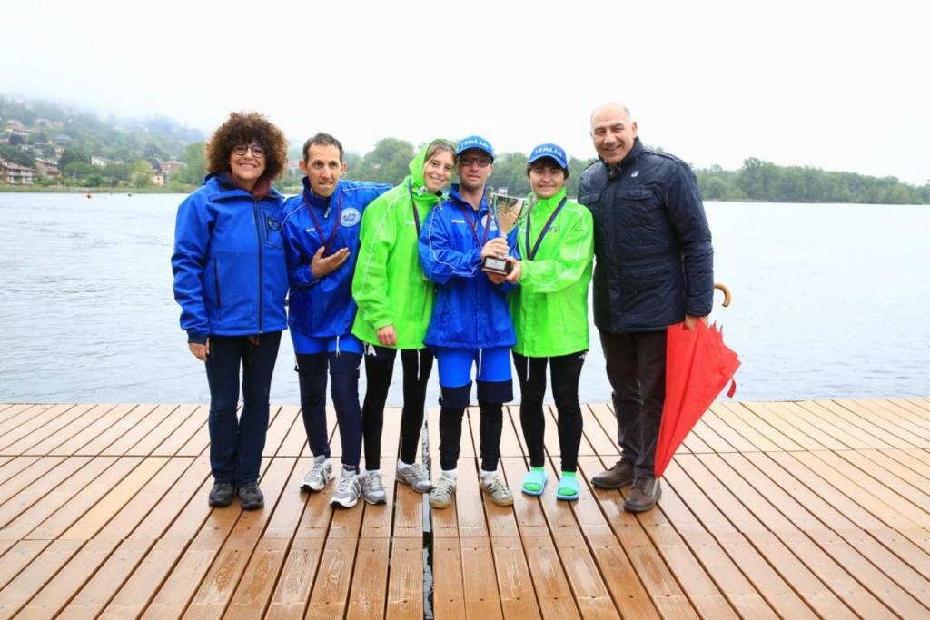 Para-rowing: ecco gli eroici vincitori della Regata Internazionale di Gavirate
